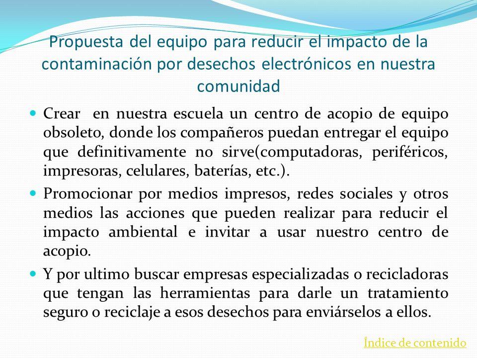 Referencias bibliográficas Nota del periódico La Crónica de hoy En un año computadoras contaminan igual que 11 millones de automóviles escrito por Isabel Nanzi, publicado el 19 de Junio de 2007.