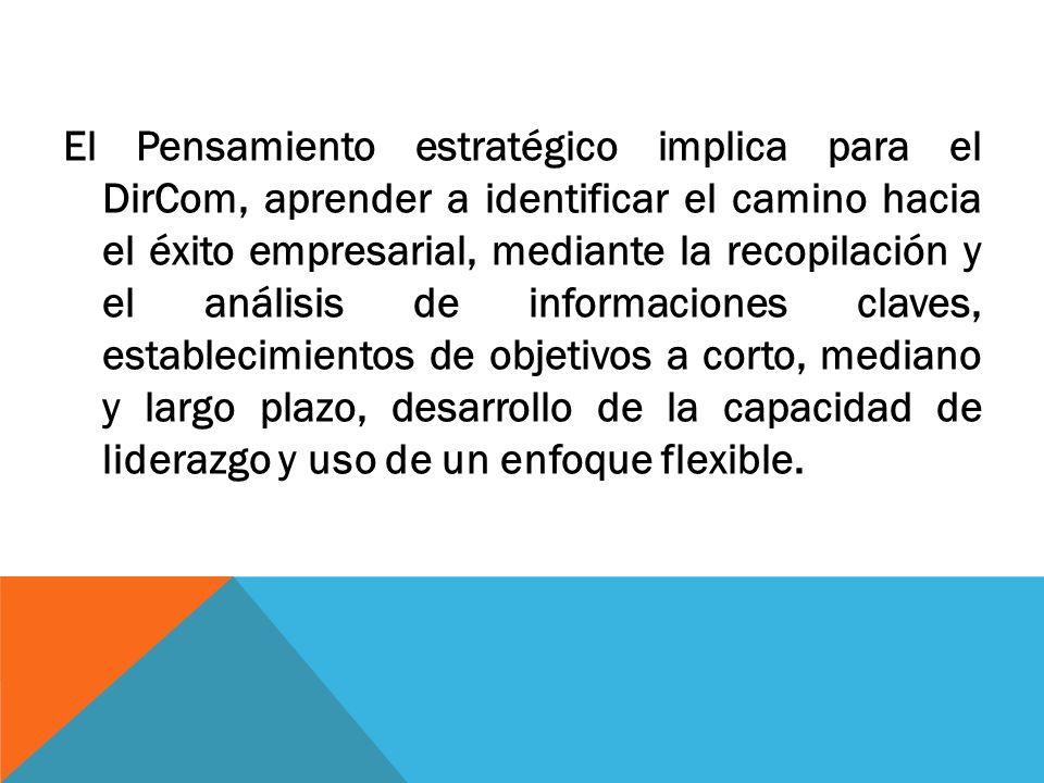 Estrategia Implica ponerse de acuerdo en objetivos y coordinar acciones para alcanzarlos.