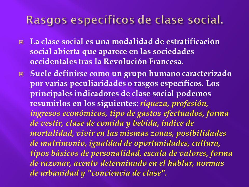 El término estratificación social es sinónimo de clase social, y algunos economistas, sociólogos y políticos decidieron utilizarlo debido a que no posee la connotación marxista que sí tiene el término clase social.