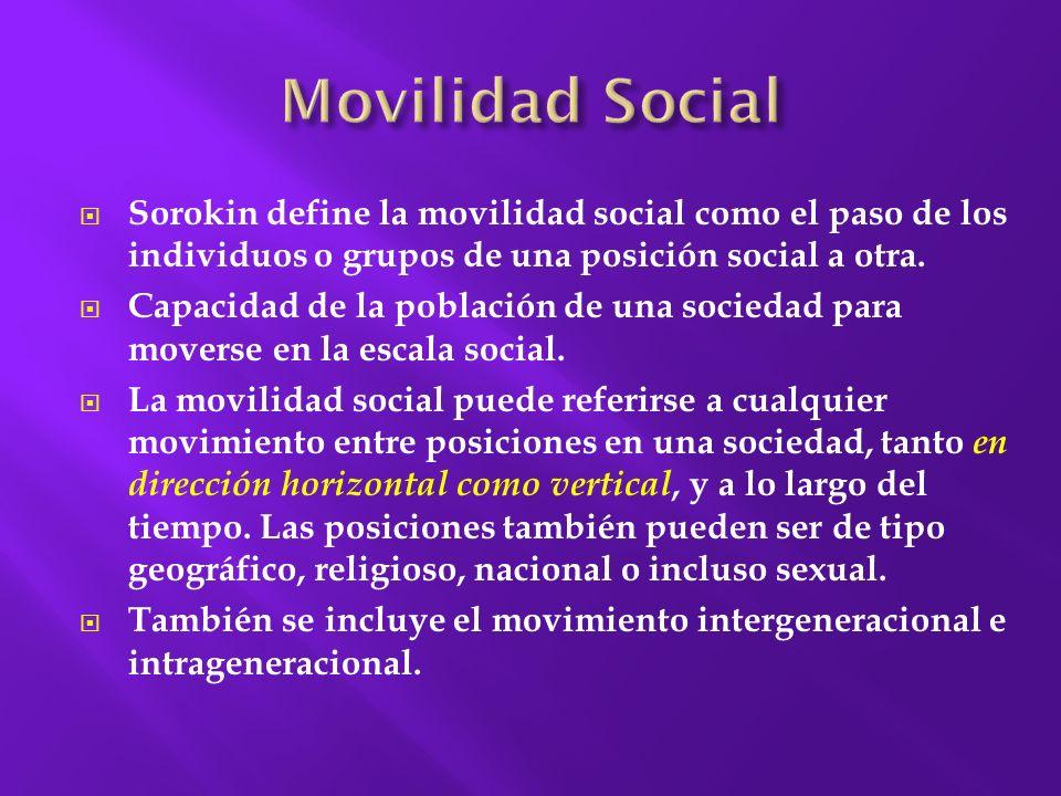 La clase social es una modalidad de estratificación social abierta que aparece en las sociedades occidentales tras la Revolución Francesa.