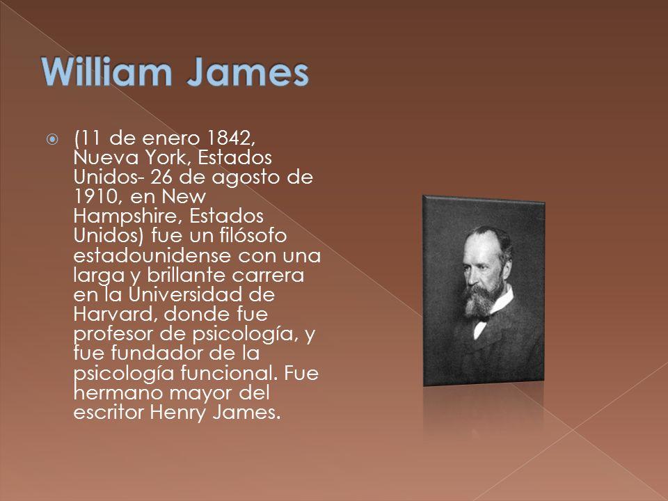 (11 de enero 1842, Nueva York, Estados Unidos- 26 de agosto de 1910, en New Hampshire, Estados Unidos) fue un filósofo estadounidense con una larga y