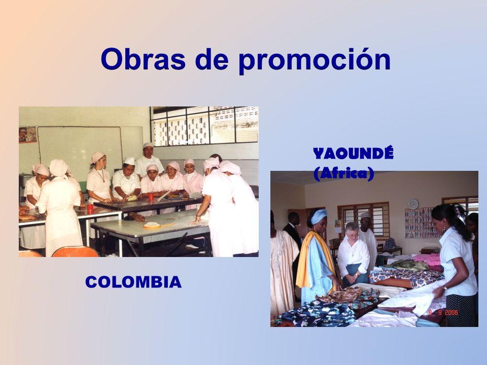 COLOMBIA YAOUNDÉ (Africa)
