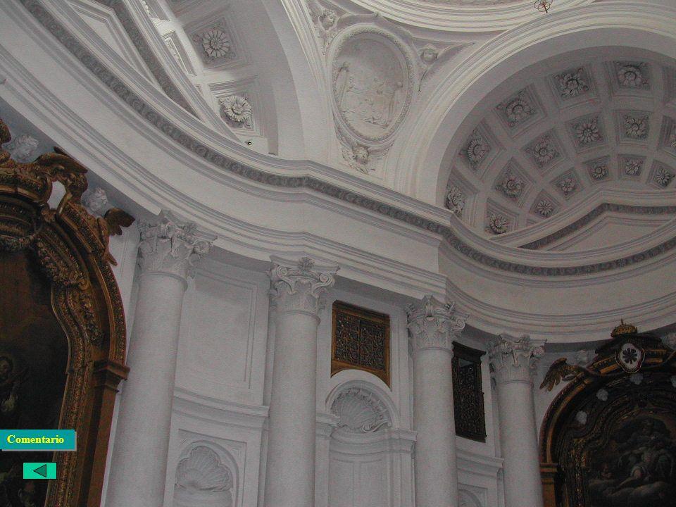 El Barroco Italiano: Arquitectura Borromini San Carlos de las 4 fuentes · Para los trinitarios. Desapareció el convento y sólo queda la Iglesia · Sola