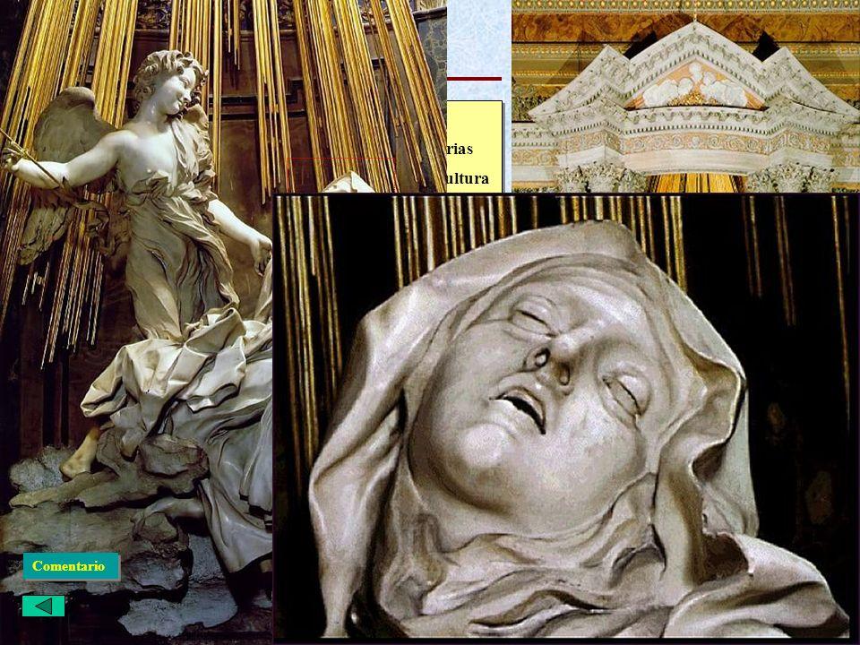 El Barroco Italiano: Escultura El éxtasis de Santa Teresa · Brazo izquierdo del crucero de Santa María de las Victorias · Toda la capilla del crucero