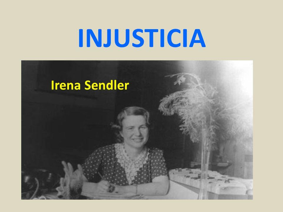 INJUSTICIA Irena Sendler