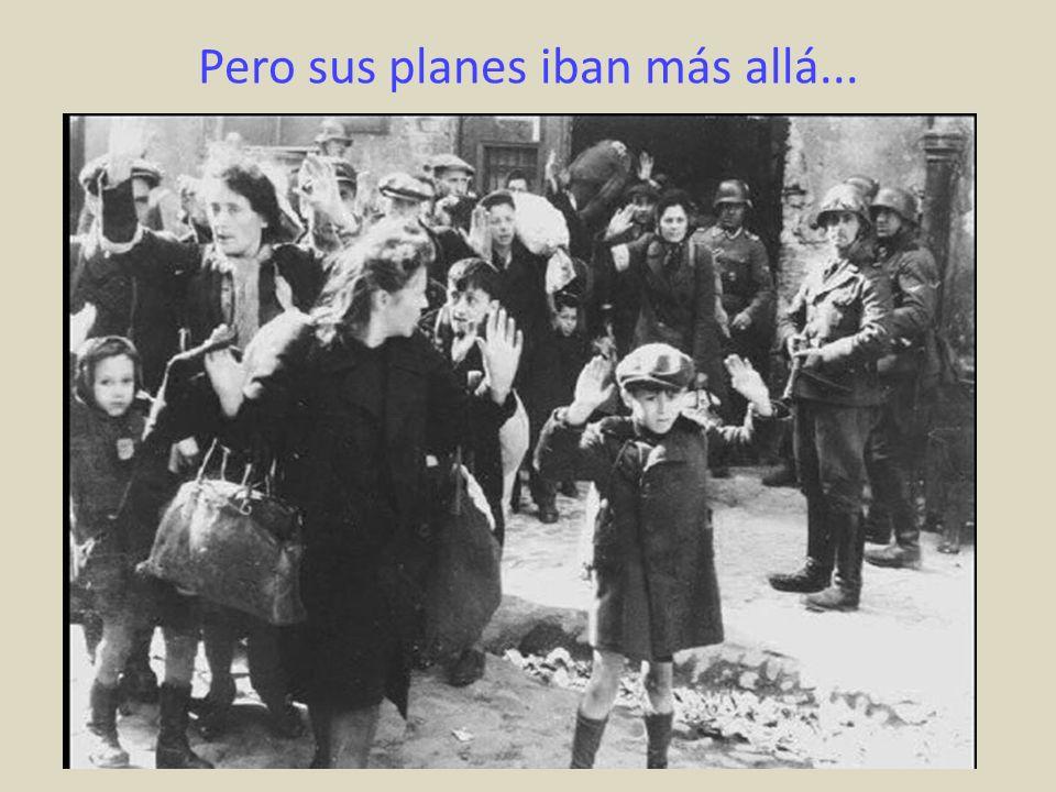 Sabía cuales eran los planes de los nazis para los judíos (siendo alemana).