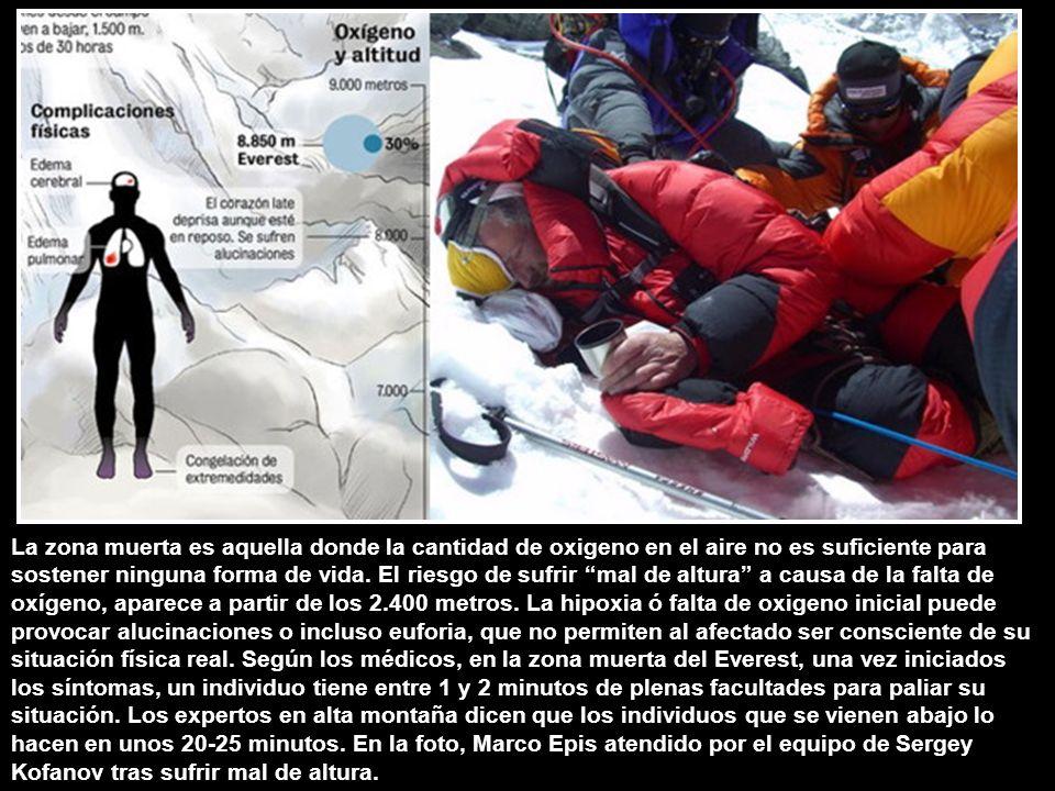 ¿Por qué se dice que el Everest se ha convertido en un circo? El Everest es la cumbre más alta del mundo con 8.848 metros sobre el nivel del mar, loca