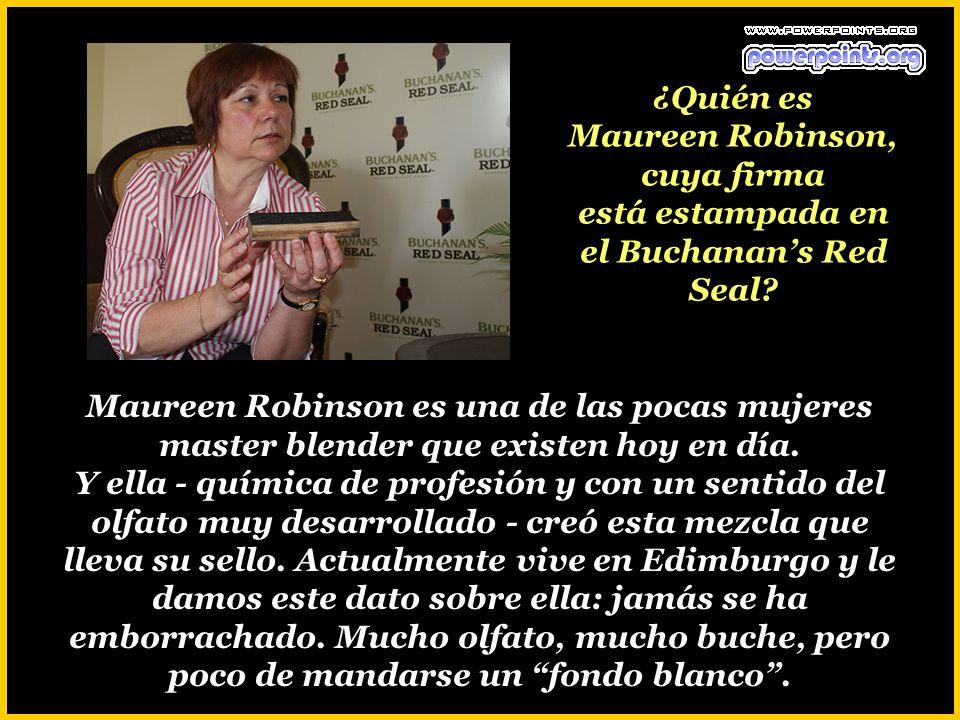 ¿Es cierto que los escoceses no toman Buchanans? Esta marca sólo se distribuye en América Latina y en el mercado hispano de Estados Unidos.