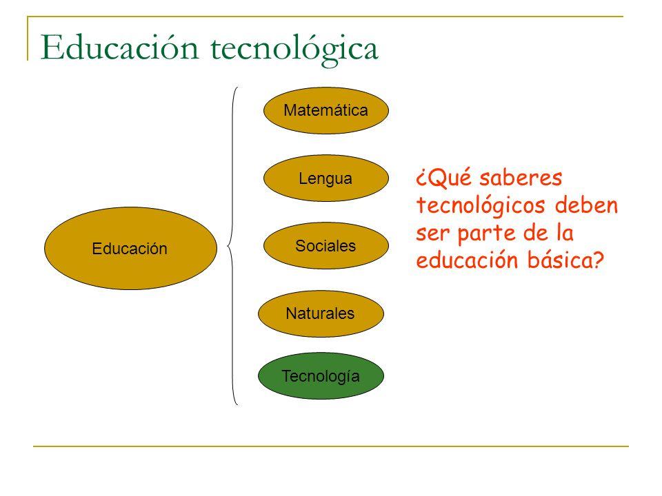 Alfabetización Sociales Naturales Lengua Matemática Informática Instrumentos cognitivos Contenidos ¿Qué competencias informáticas son imprescindibles para trabajo intelectual?