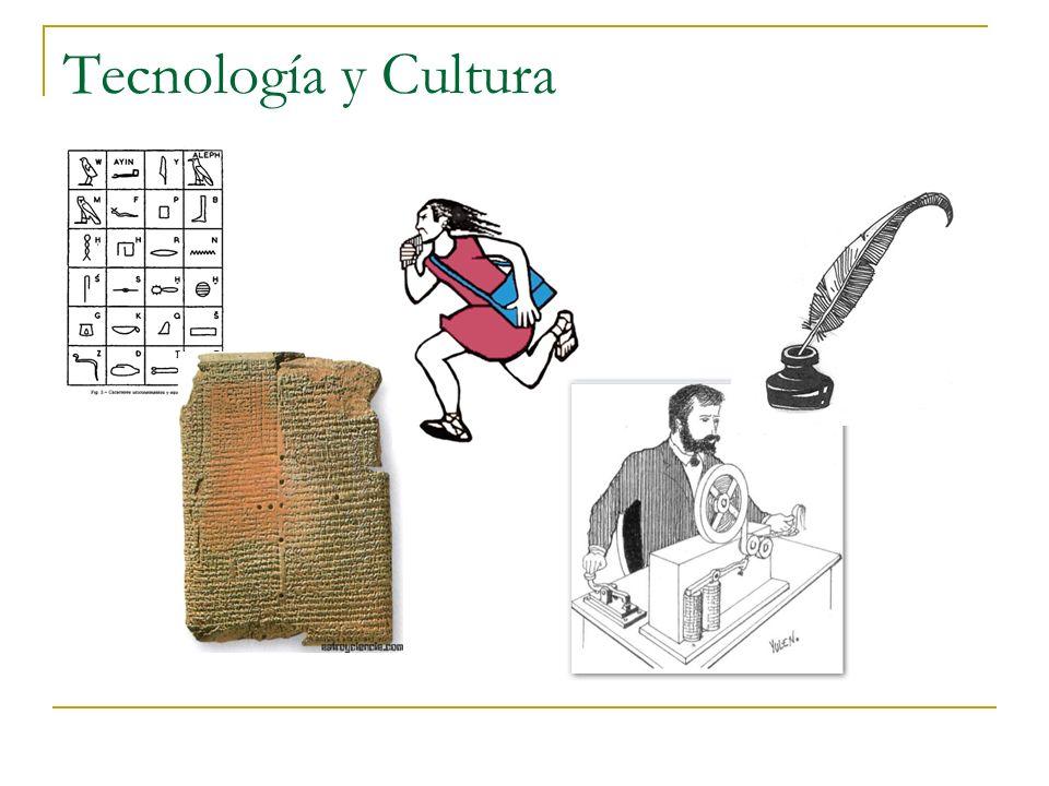 Tecnología y cultura ¿Se acuerda de… …cuando no había e-mail.
