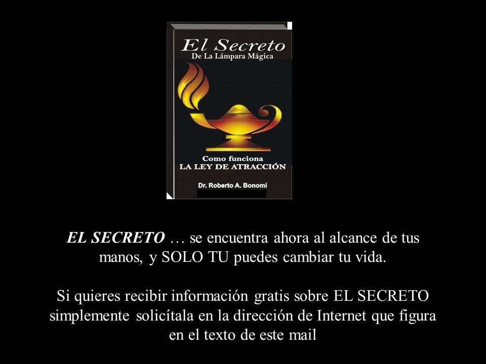 EL SECRETO Y TU SALUD El secreto puede ser tu puerta para lograr la paz interior y terminar con el stress de la loca carrera cotidiana Y no solo eso,
