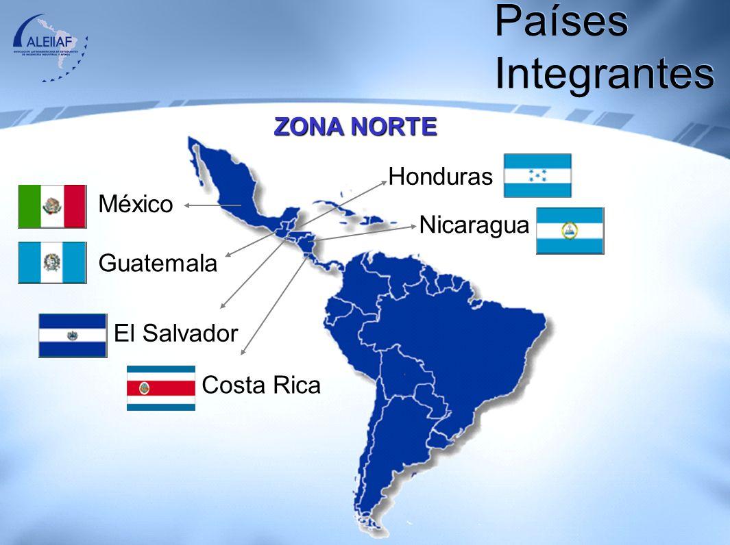 ZONA CENTRO Panamá Colombia Ecuador Cuba Republica Dominicana Puerto Rico Venezuela Países Integrantes