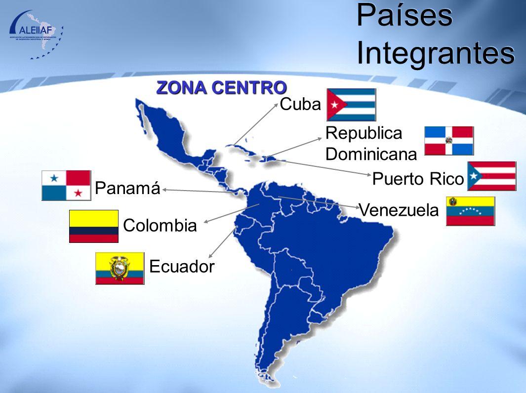 ZONA SUR Perú Bolivia Chile Paraguay Argentina Brasil Países Integrantes