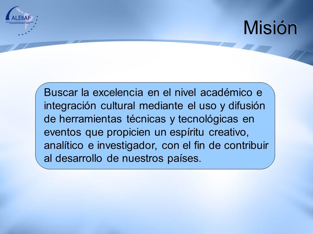 Consolidarnos como la institución líder en brindar las herramientas necesarias a los estudiantes universitarios, para propiciar un espíritu creativo, analítico, investigador e integrador en todos los países de Latinoamérica y el Caribe, creando Conciencia de una gran Nación Latinoamericana.