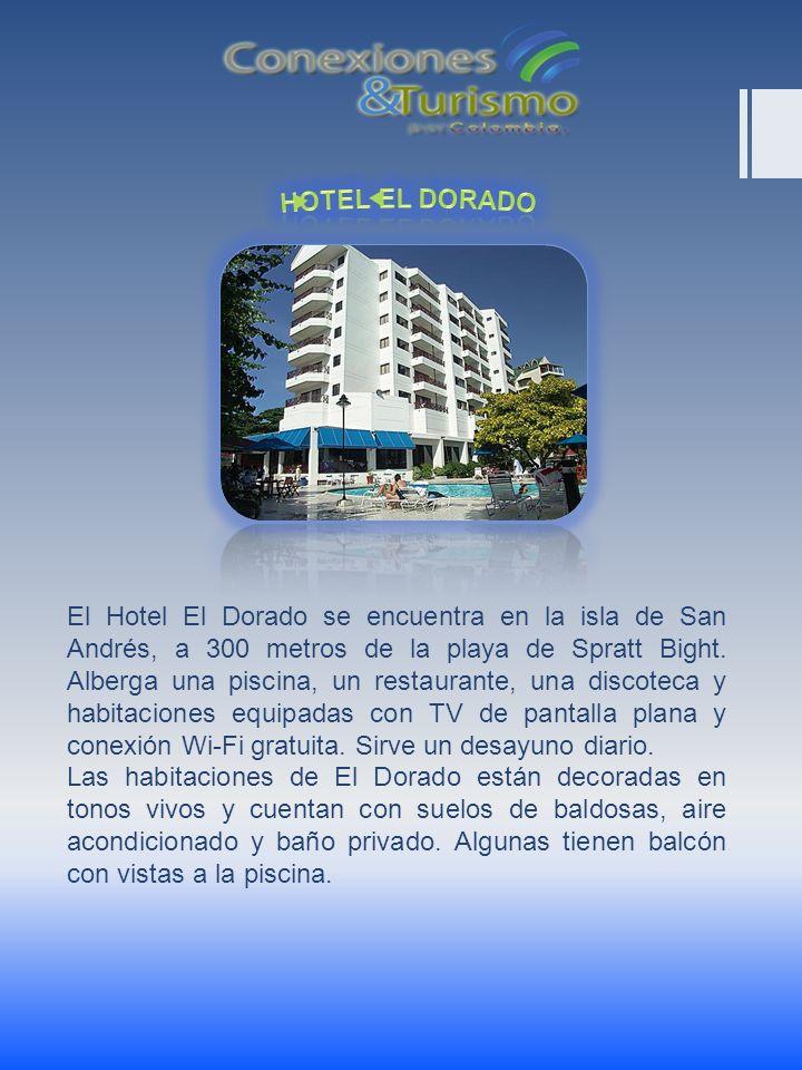El Hotel El Dorado se encuentra en la isla de San Andrés, a 300 metros de la playa de Spratt Bight. Alberga una piscina, un restaurante, una discoteca