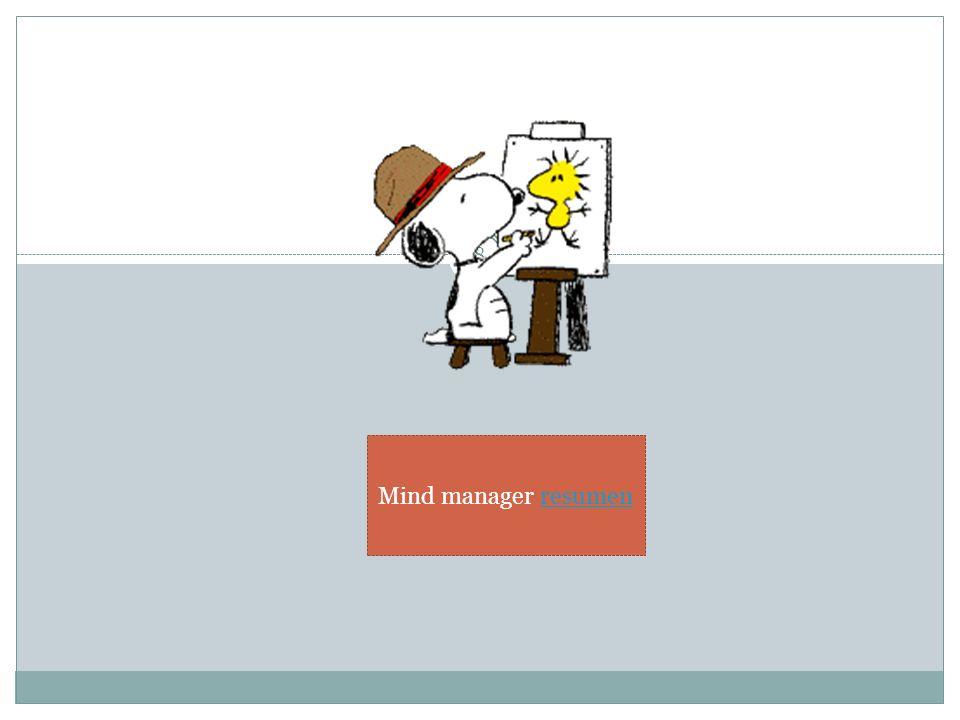 8 Mind manager resumenresumen