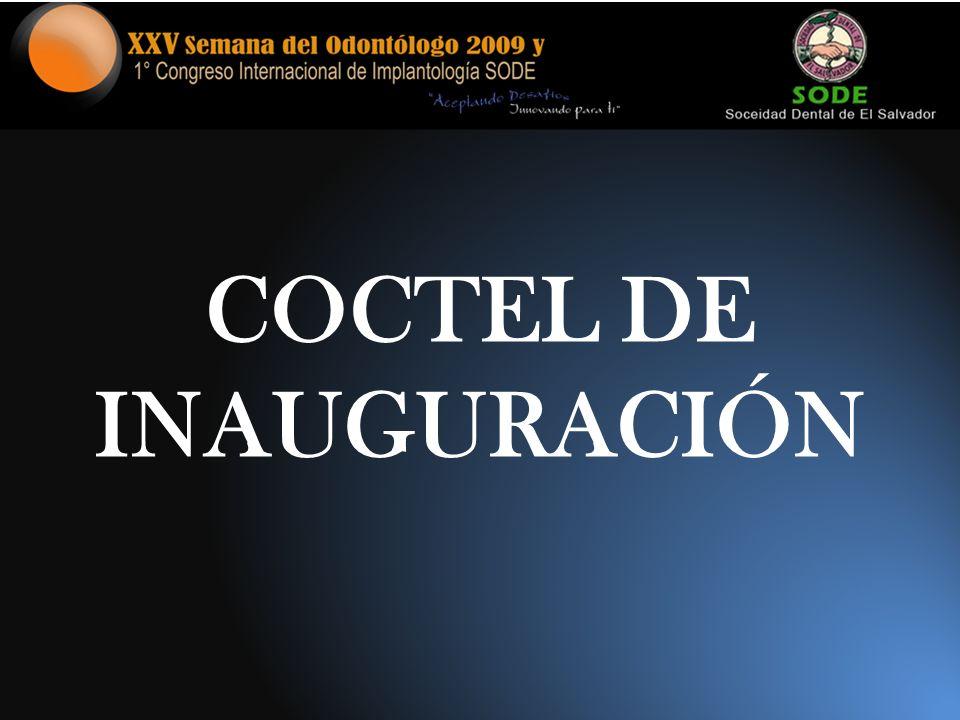 COCTEL DE INAUGURACIÓN