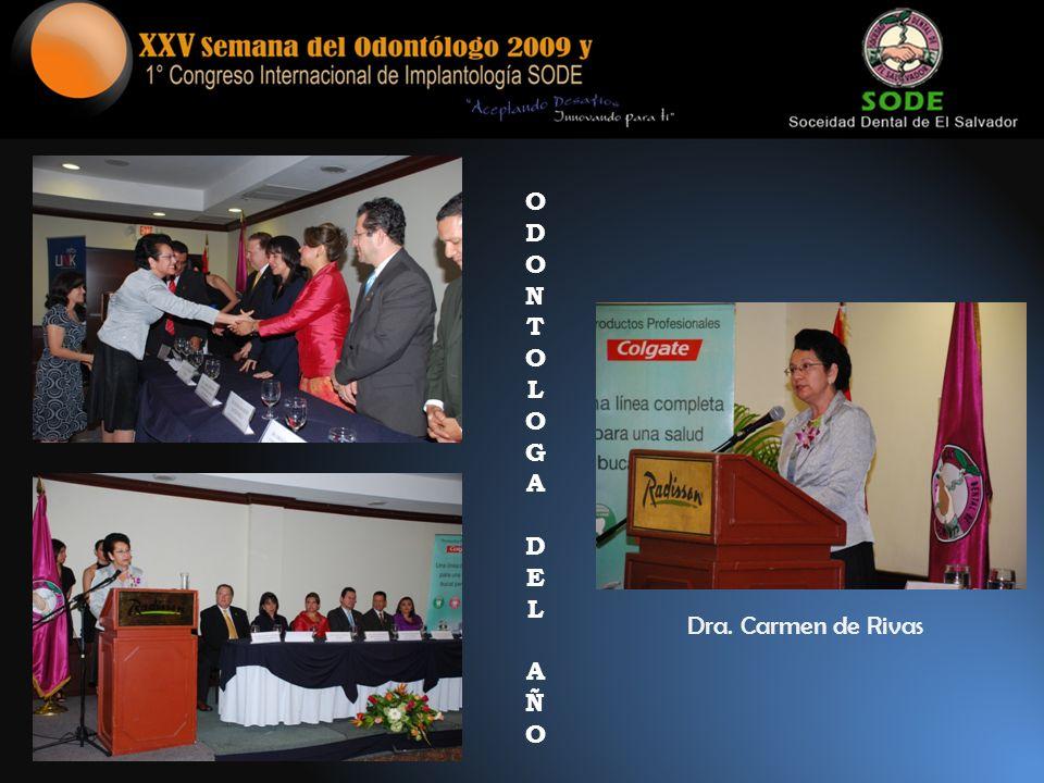 ODONTOLOGADELAÑOODONTOLOGADELAÑO Dra. Carmen de Rivas