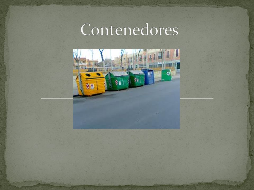 El reciclaje se inscribe en la estrategia de tratamiento de residuos de las Tres R.
