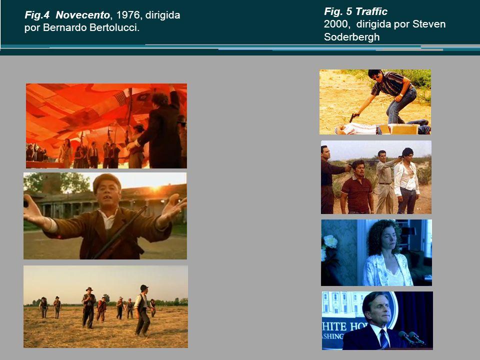 Fig.4 Novecento, 1976, dirigida por Bernardo Bertolucci.