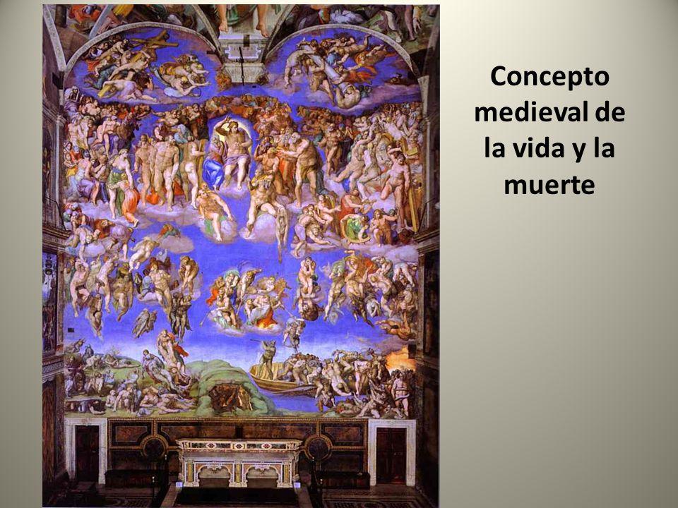 Concepto medieval de la vida y la muerte