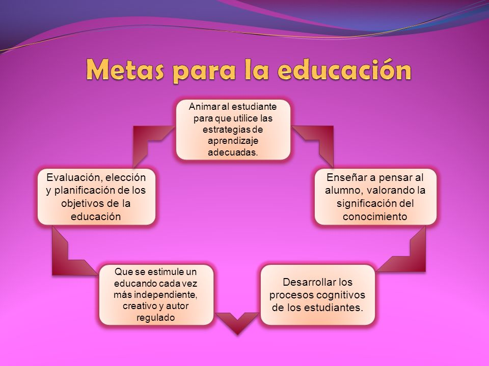 Animar al estudiante para que utilice las estrategias de aprendizaje adecuadas. Enseñar a pensar al alumno, valorando la significación del conocimient