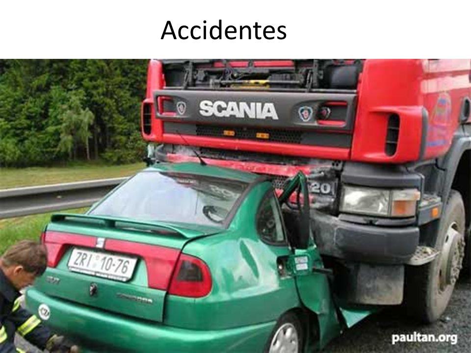 CONSECUENCIAS A TERCEROS INOCENTES -Accidentes automovilísticos y de otros tipos -Violencia y abuso intrafamiliar -Divorcios