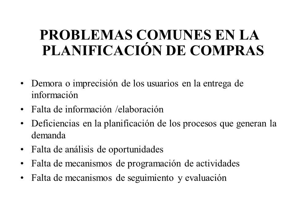 Demora o imprecisión de los usuarios en la entrega de información Falta de información /elaboración Deficiencias en la planificación de los procesos q