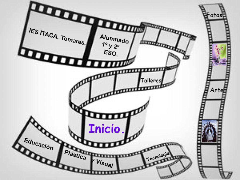 Inicio Actividades Previas Tareas Proceso Recursos Evaluación Productos Conclusión Proyecto de Trabaj o Plástica. Rocío Salvador. Tecnología. Federico