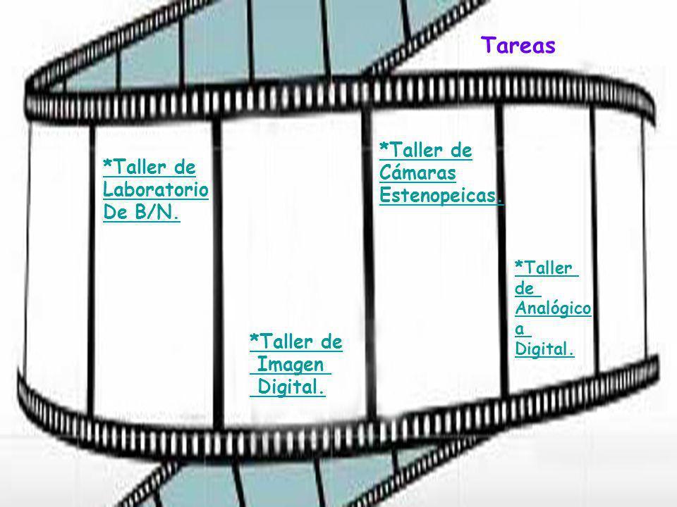 *Taller de Laboratorio De B/N.*Taller de Imagen Digital.