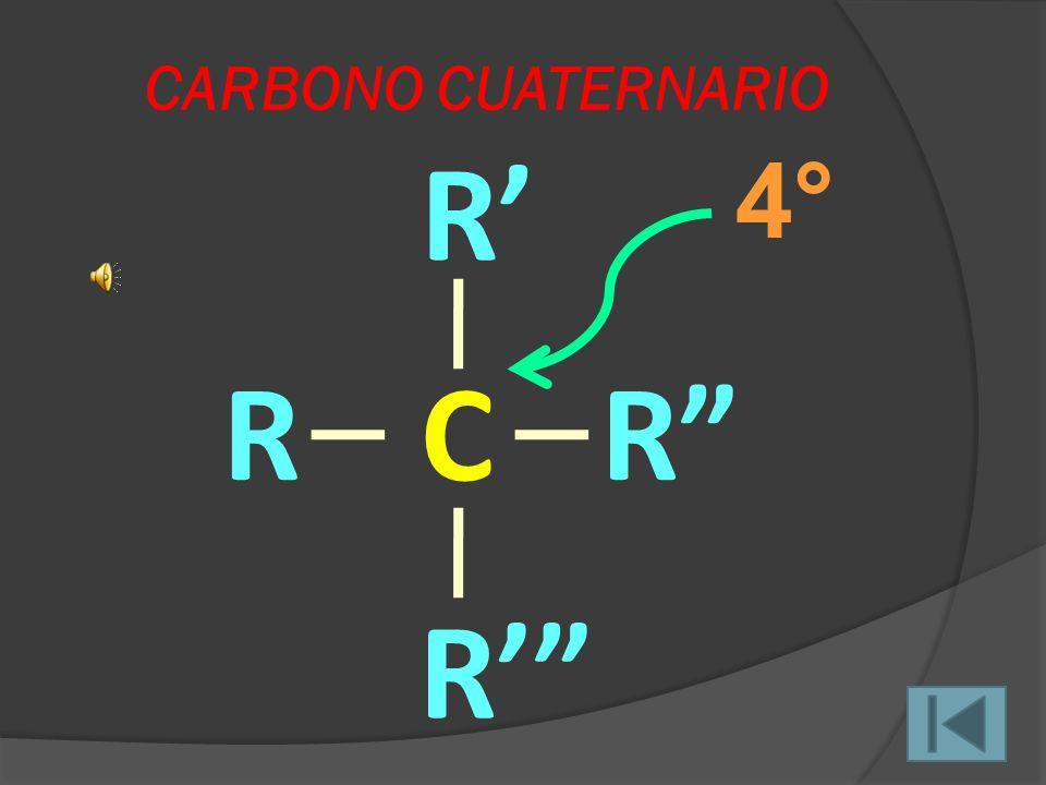 Para compuestos de carbono e hidrógeno (hidrocarburos) observamos que los hidrógenos también son clasificados de la siguiente manera: HIDRÓGENO PRIMAR