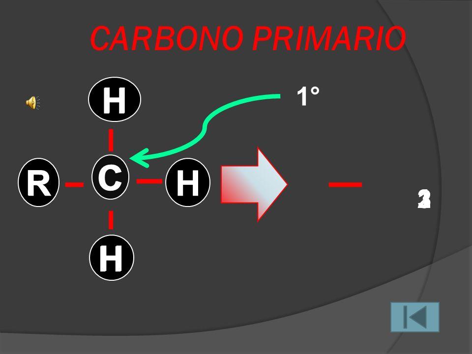 CARBONO CUATERNARIO 4°4° R C R R R