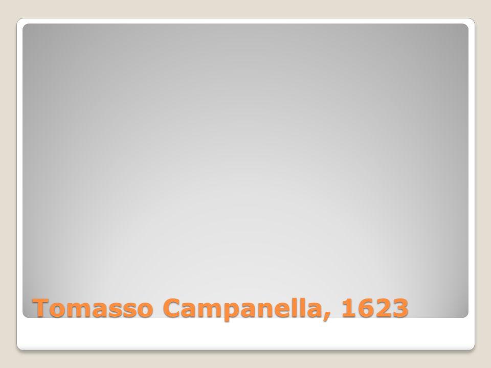 Tomasso Campanella, 1623