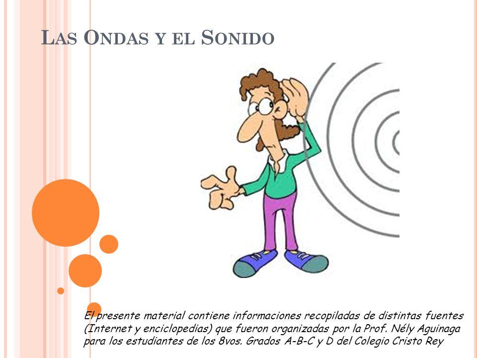 SONIDOS Y ONDAS SONORAS Todos los seres vivos estamos rodeados de sonidos de diferentes formas, intensidades y procedencias.