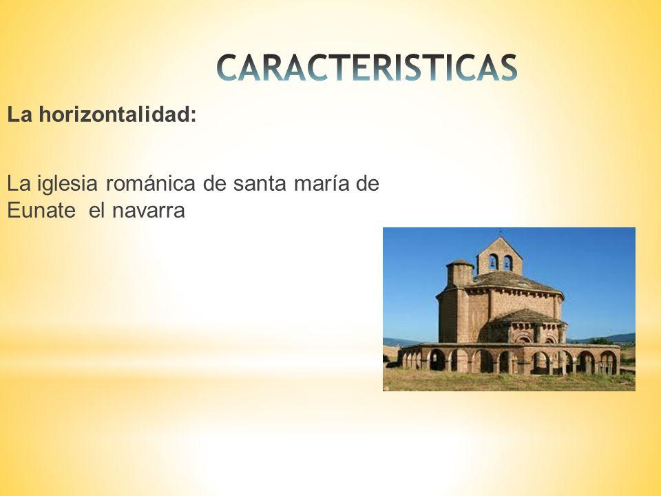 La horizontalidad: La iglesia románica de santa maría de Eunate el navarra