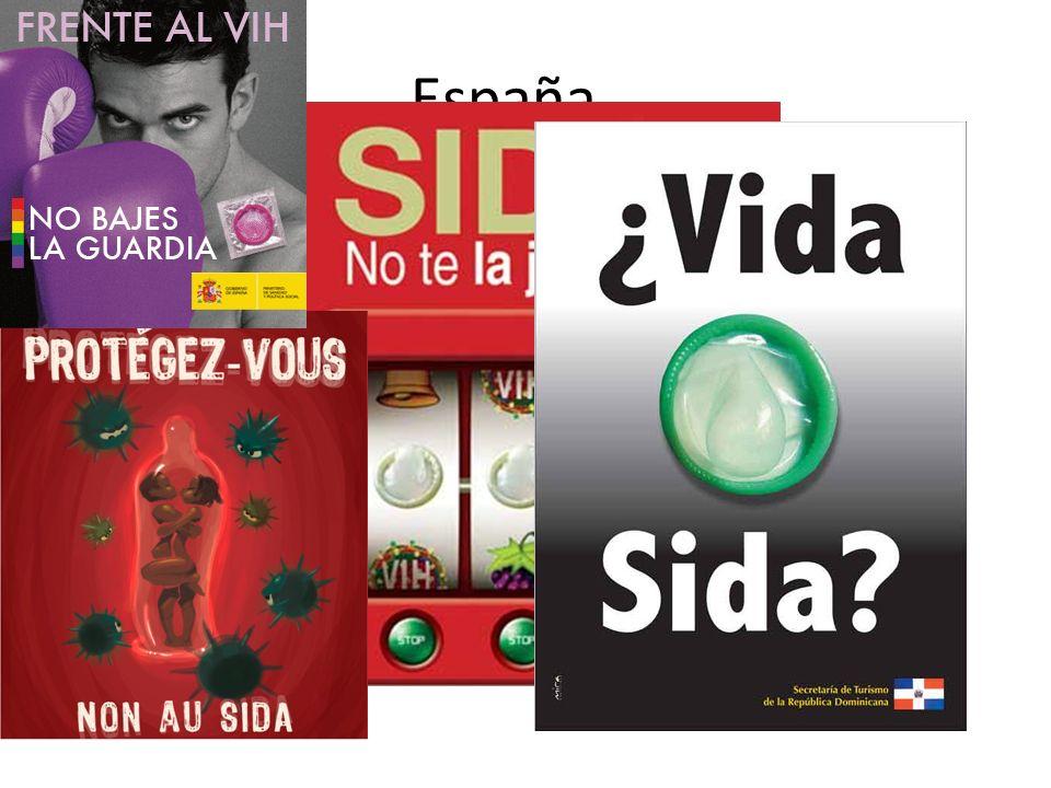 España… Prevalencia del uso de métodos anticonceptivos: 65,7 % Prevalencia del VIH en persona entre 15-49 años: 0,4 %