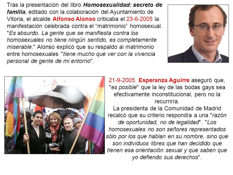 En octubre de 2005 el consejero de Sanidad de la Comunidad Valenciana, Vicente Rambla, dio las cifras regionales de embarazos no deseados en adolescentes.