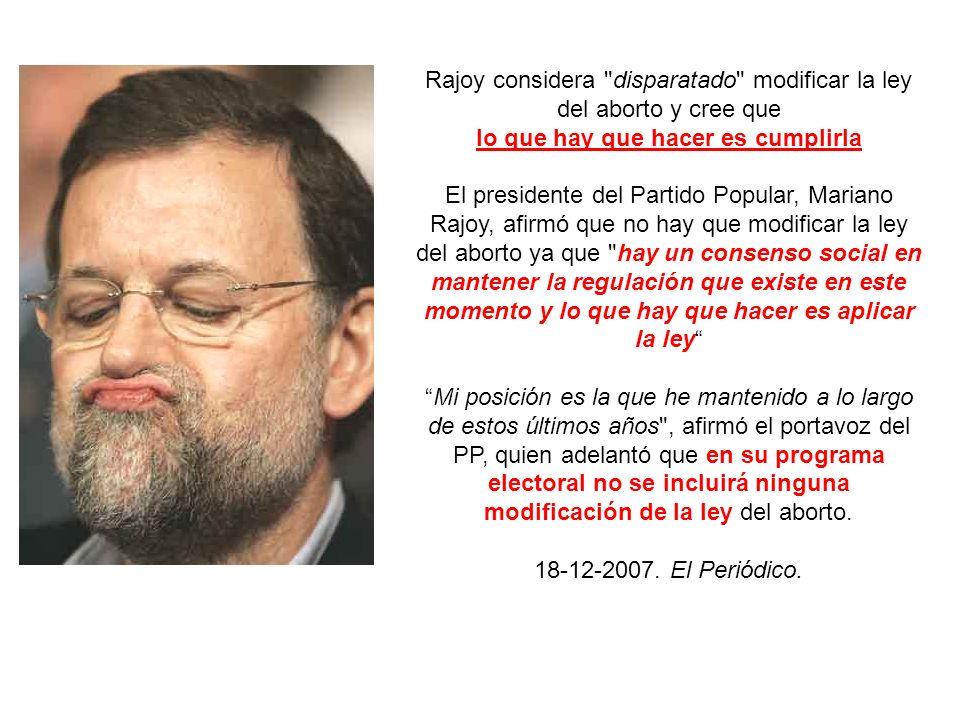 En enero de 2009 el diario El Mundo publicaba una foto de la Sra.