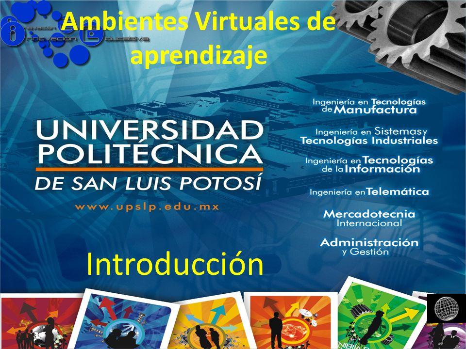 Ambientes Virtuales de aprendizaje Introducción