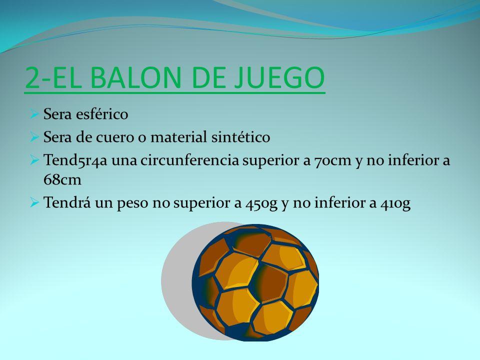 3-NUMERO DE JUGADORES El partido será jugado por dos equipos formado por máximo de 11 jugadores cada uno, de los cuales uno será el arquero.