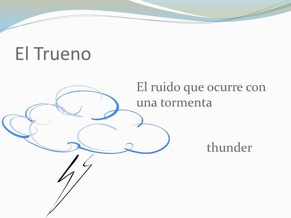 El Trueno El ruido que ocurre con una tormenta thunder