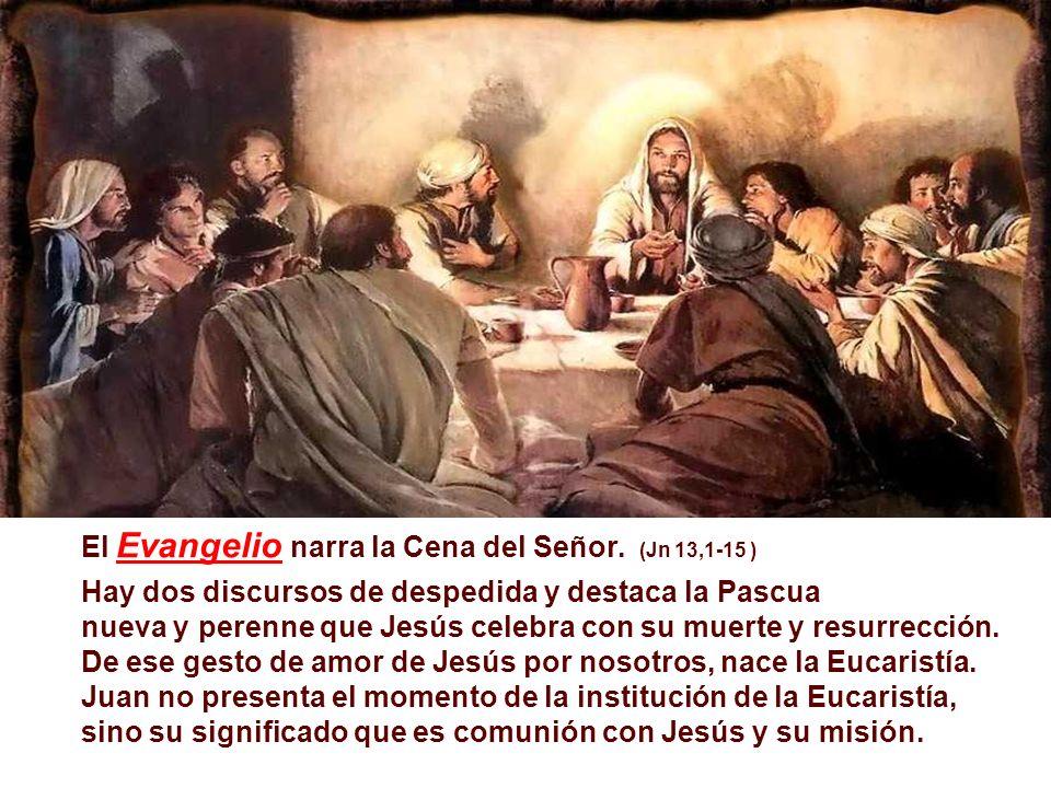 En la 2ª Lectura, Pablo, habiendo recibido de la Tradición el relato de la Institución de la Eucaristía, como memorial de la vida, muerte y Resurrección de Jesús, llama la atención a la participación fraterna como consecuencia da celebración.