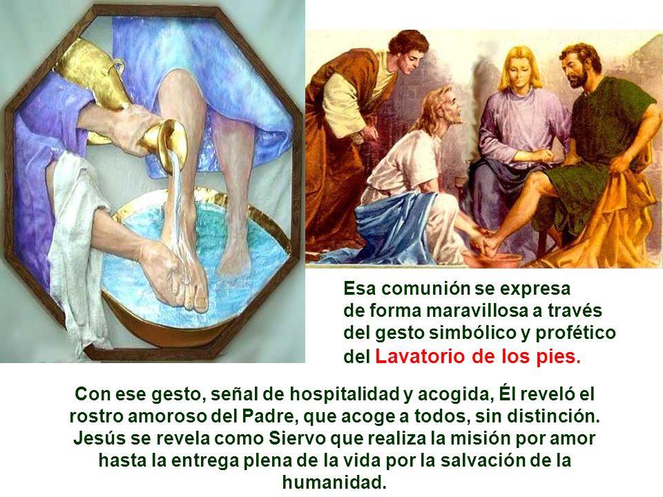 El Evangelio narra la Cena del Señor.