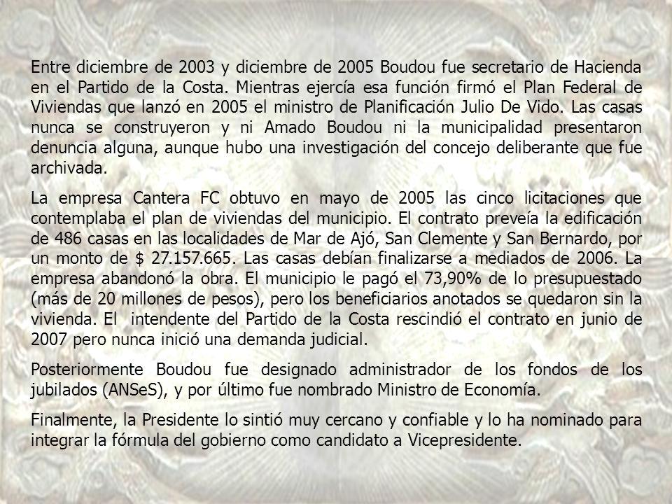 En 1995 era gerente general de la empresa Venturino Eshiur S.