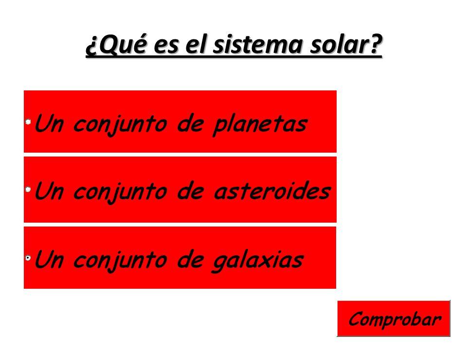 ¿Qué es el sistema solar?