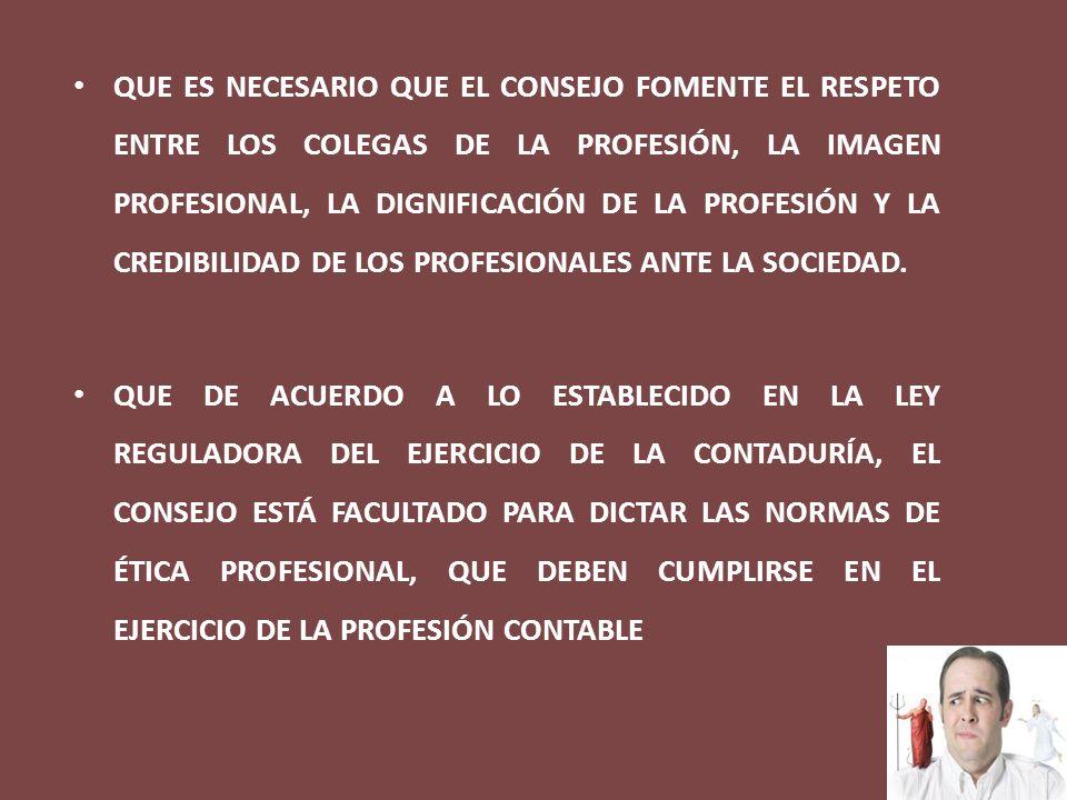 ALCANCE DEL CODIGO EL CÓDIGO DE ÉTICA PROFESIONAL ES APLICABLE A LOS CONTADORES PÚBLICOS INSCRITOS EN EL CONSEJO DE VIGILANCIA DE LA PROFESIÓN DE CONTADURÍA PÚBLICA Y AUDITORÍA, SEAN PERSONAS NATURALES O PERSONAS JURÍDICAS, TANTO EN EL EJERCICIO INDEPENDIENTE O CUANDO ACTÚEN COMO FUNCIONARIOS O EMPLEADOS DE INSTITUCIONES PÚBLICAS O PRIVADAS.