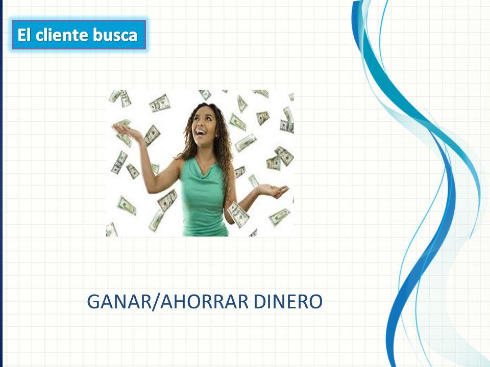 GANAR/AHORRAR DINERO