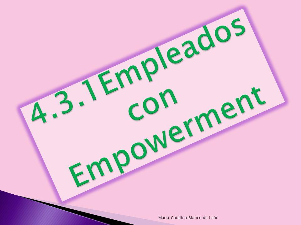 Empowerment es un proceso estratégico que busca una relación de socios entre la organización y su gente, aumentar la confianza responsabilidad autoridad y compromiso para servir mejor al cliente.