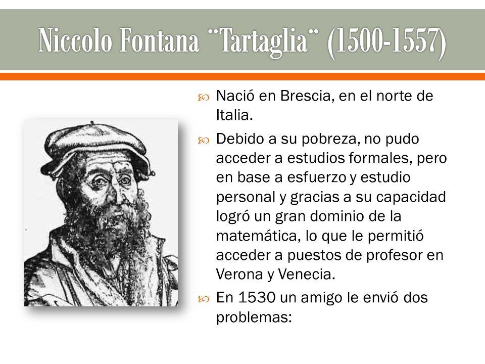 Nació en Brescia, en el norte de Italia. Debido a su pobreza, no pudo acceder a estudios formales, pero en base a esfuerzo y estudio personal y gracia