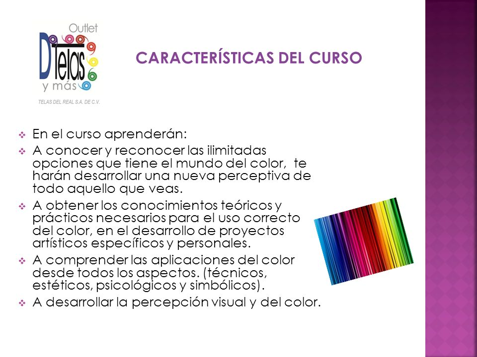 SESIÓN II Contrastes y Armonías Percepción del color modelo de Gestalt Significado de los colores Color en la Arquitectura e Interiorismo Los cursos se imparten con material exclusivo e innovador de Le colora.